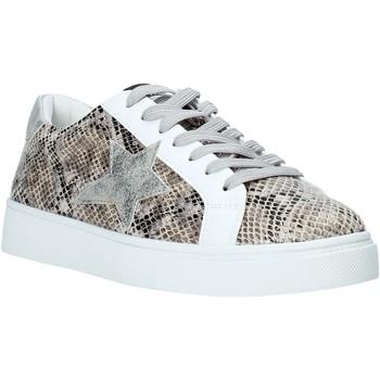 Skor Dam Sneakers Gold&gold A20 GA722 Silver