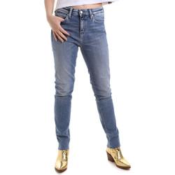 textil Dam Stuprörsjeans Calvin Klein Jeans J20J212737 Blå