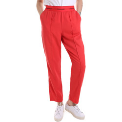 textil Dam Joggingbyxor Calvin Klein Jeans K20K201765 Röd