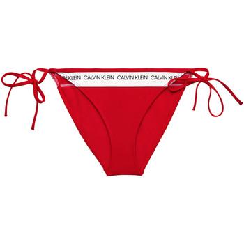 textil Dam Bikinibyxa / Bikini-bh Calvin Klein Jeans KW0KW00931 Röd