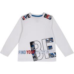textil Barn Långärmade T-shirts Chicco 09006867000000 Vit