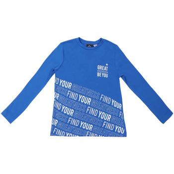 textil Barn Långärmade T-shirts Chicco 09006867000000 Blå