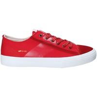 Skor Herr Sneakers Gas GAM810035 Röd