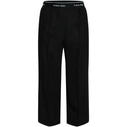 textil Dam Baggybyxor Calvin Klein Jeans K20K201766 Svart