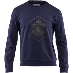 textil Herr Sweatshirts Lumberjack CM60142 001 502 Blå