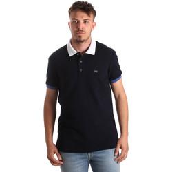 textil Herr Kortärmade pikétröjor Nero Giardini P972240U Blå