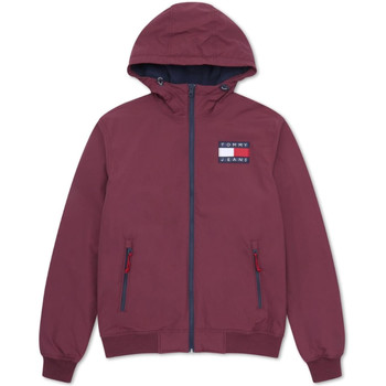 textil Herr Sweatjackets Tommy Hilfiger DM0DM07120 Röd