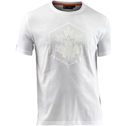 textil Herr T-shirts Lumberjack CM60343 005 514 Vit