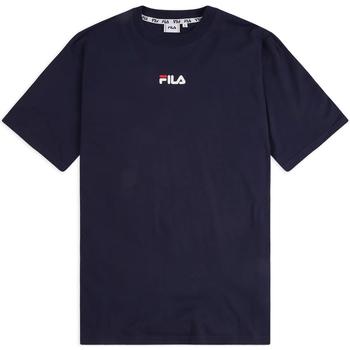 textil Herr T-shirts Fila 687484 Blå