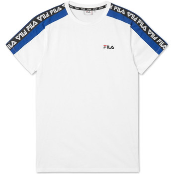 textil Herr T-shirts Fila 687700 Vit