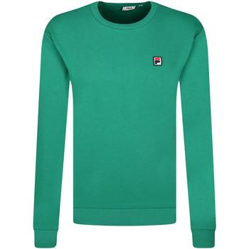 textil Herr Sweatshirts Fila 687457 Grön