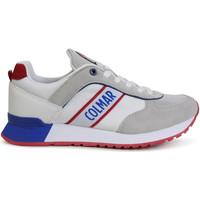 Skor Herr Sneakers Colmar TRAVIS R Vit
