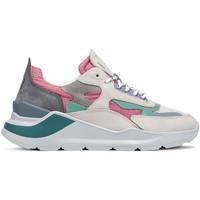 Skor Dam Sneakers Date W321-FG-NK-PK Rosa