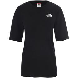 textil Dam T-shirts The North Face NF0A4CESJK31 Svart