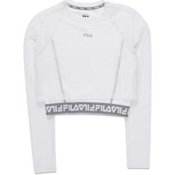 textil Dam Långärmade T-shirts Fila 687720 Vit