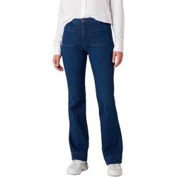 textil Dam Jeans Wrangler W233JN69F Blå