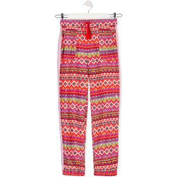 textil Barn Baggybyxor Losan 014-9014AL Röd