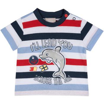 textil Barn T-shirts Chicco 09006876000000 Blå