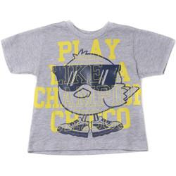 textil Barn T-shirts Chicco 09006918000000 Grå