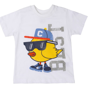 textil Barn T-shirts Chicco 09006918000000 Vit