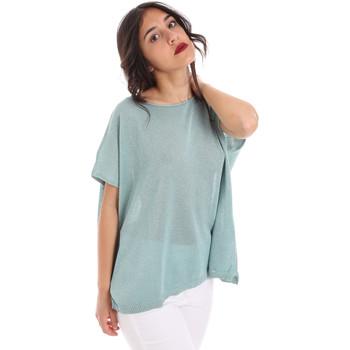textil Dam Blusar Gaudi 011FD53011 Blå