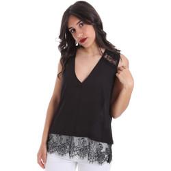 textil Dam Blusar Gaudi 011FD45055 Svart