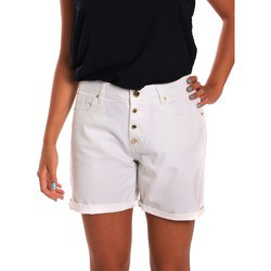 textil Dam Shorts / Bermudas Gaudi 811BD25015 Vit
