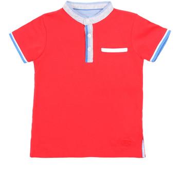textil Barn Kortärmade pikétröjor Losan 015-1791AL Röd