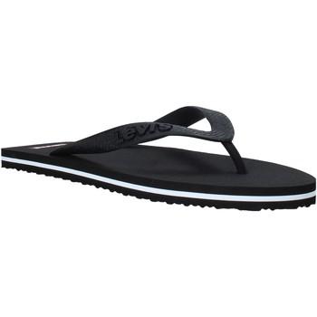 Skor Herr Flip-flops Levi's 229817 753 Svart