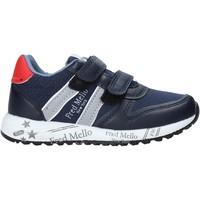 Skor Pojkar Sneakers Fred Mello S20-SFK318 Blå