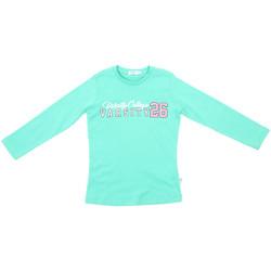 textil Barn Långärmade T-shirts Melby 70C5615 Grön