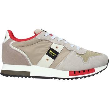 Skor Herr Sneakers Blauer S0QUEENS01/MES Beige