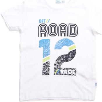 textil Barn T-shirts Melby 70E5544 Vit