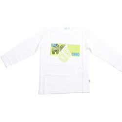 textil Barn Långärmade T-shirts Melby 70C5524 Vit