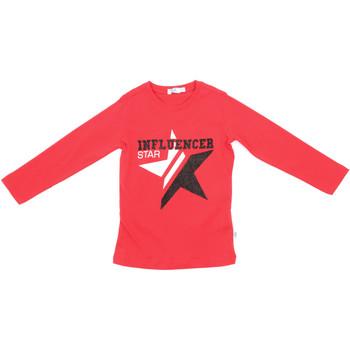textil Barn Långärmade T-shirts Melby 70C5615 Röd