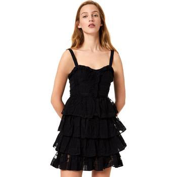 textil Dam Korta klänningar Liu Jo FA0312 T4190 Svart