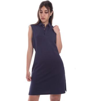 textil Dam Korta klänningar Emporio Armani EA7 3HTA58 TJI3Z Blå