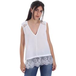 textil Dam Blusar Gaudi 011FD45055 Vit