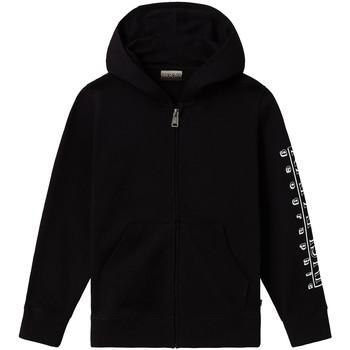 textil Barn Sweatjackets Napapijri NP0A4EB1 Svart