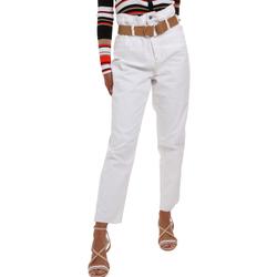 textil Dam Chinos / Carrot jeans Liu Jo WA0281 T6446 Vit