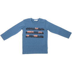 textil Barn Långärmade T-shirts Melby 70C5524 Blå