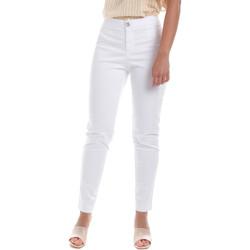 textil Dam Chinos / Carrot jeans NeroGiardini E060100D Vit