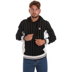 textil Herr Sweatshirts Fila 687861 Svart