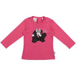 textil Barn Långärmade T-shirts Melby 20C2101DN Rosa