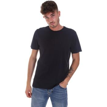 textil Herr T-shirts Navigare NV31128 Blå