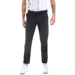 textil Herr Chinos / Carrot jeans Les Copains 9U3320 Blå