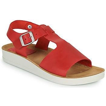 Skor Dam Sandaler Kickers ODILOO Röd