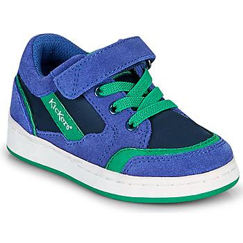 Skor Pojkar Sneakers Kickers BISCKUIT Blå