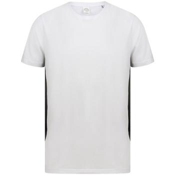 textil T-shirts Sf SF253 Vit/Svart
