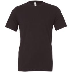 textil T-shirts Bella + Canvas CV3001 Mörkgrå Solid
